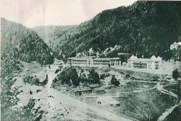 Centrul stațiunii