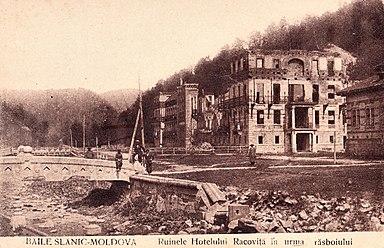 Hotelul Racoviță după război