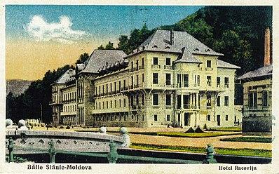 Hotelul Racoviță reparat