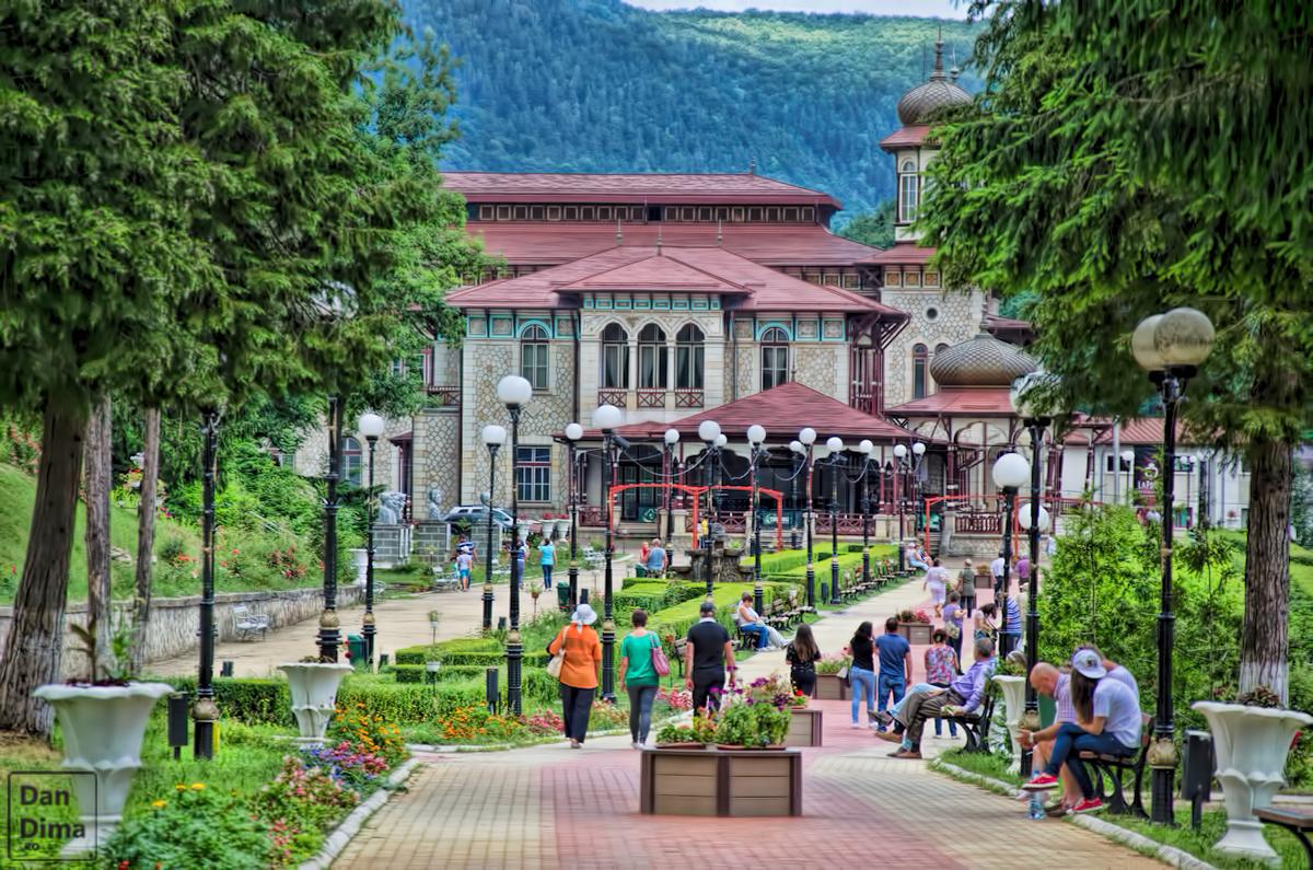 Parc Central, aleea Cazino
