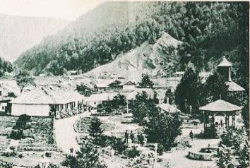 Viitorul parc, la acea vreme ocupat de primii coloniști
