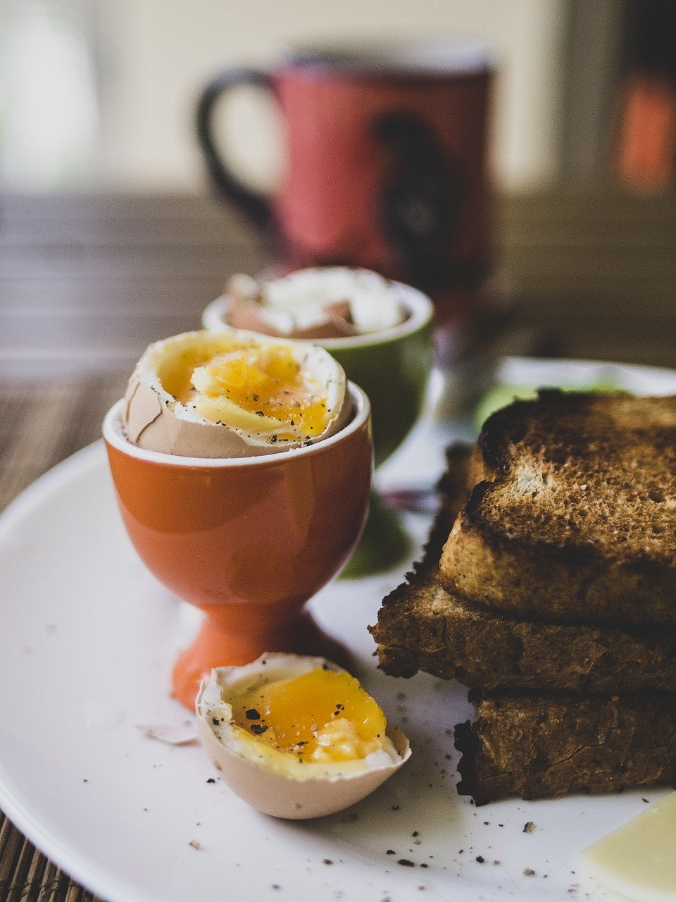 breakfast, eggs, healthy pixabay