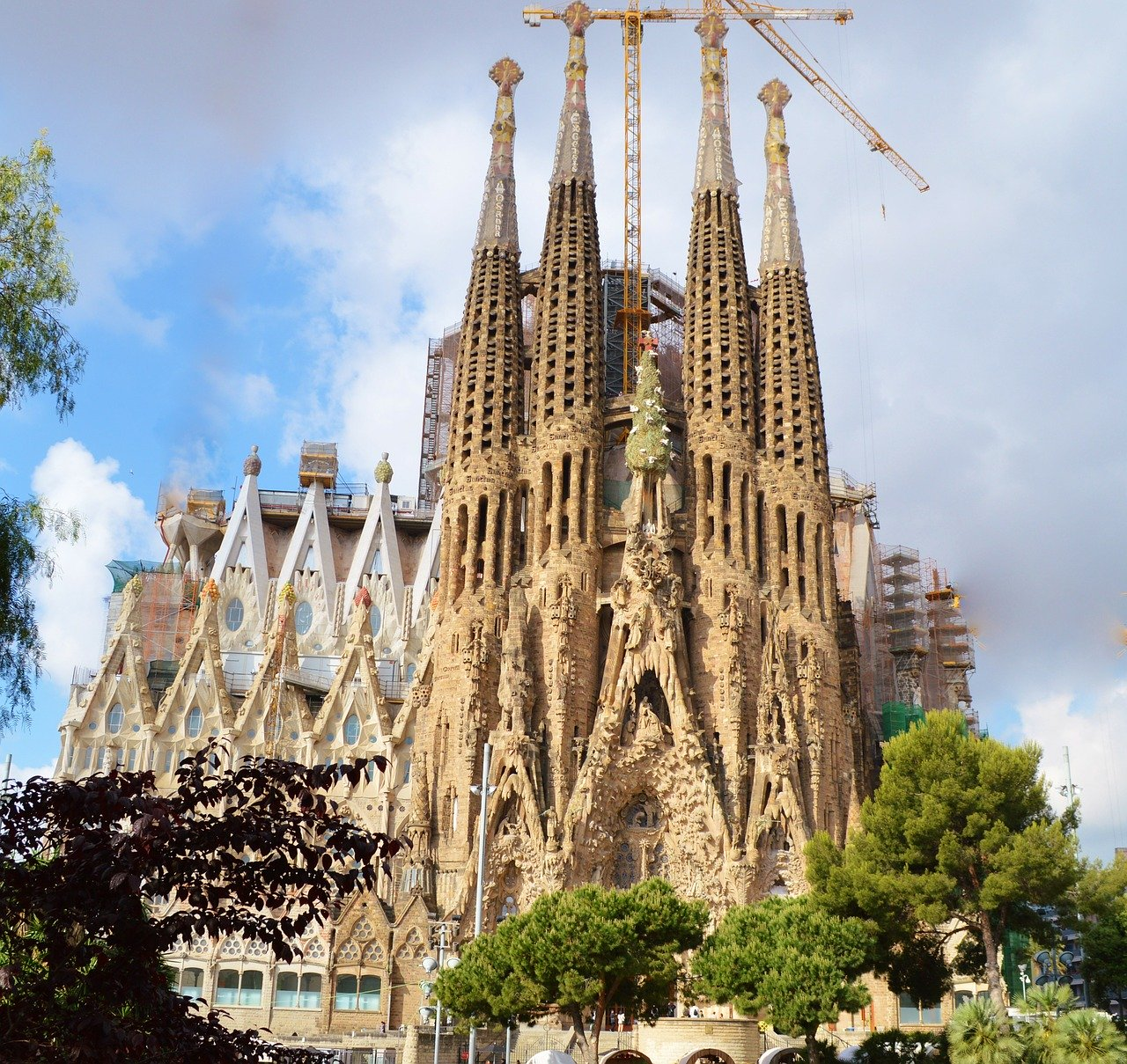 cathedral, sagrada familia, spain