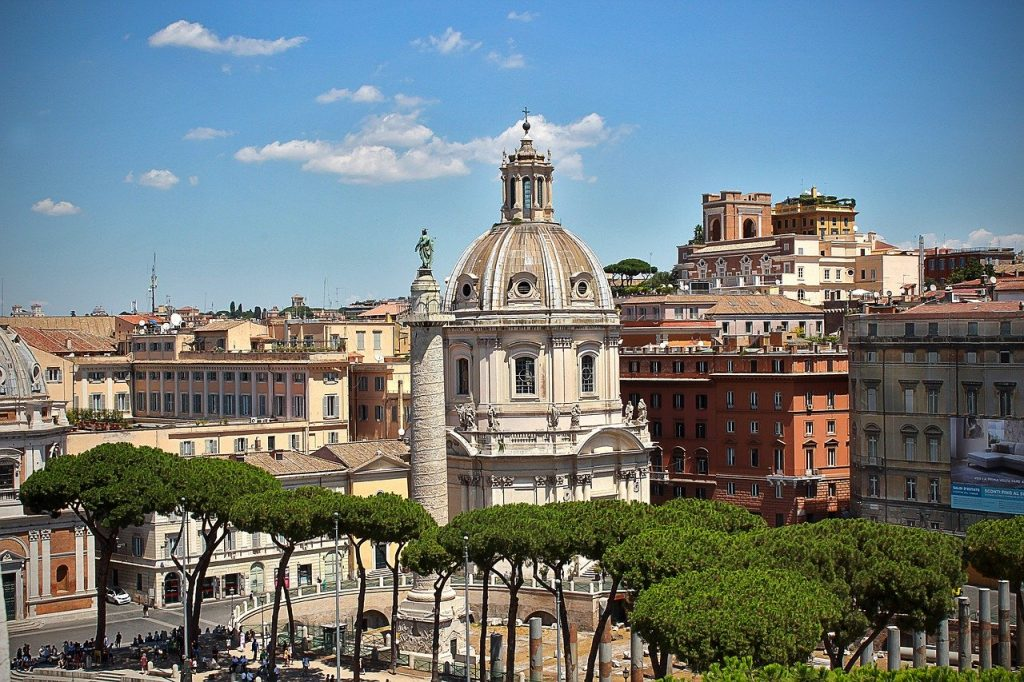 dome, rome, italy