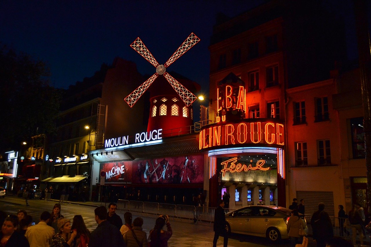 Moulin Rouge, Pixabay