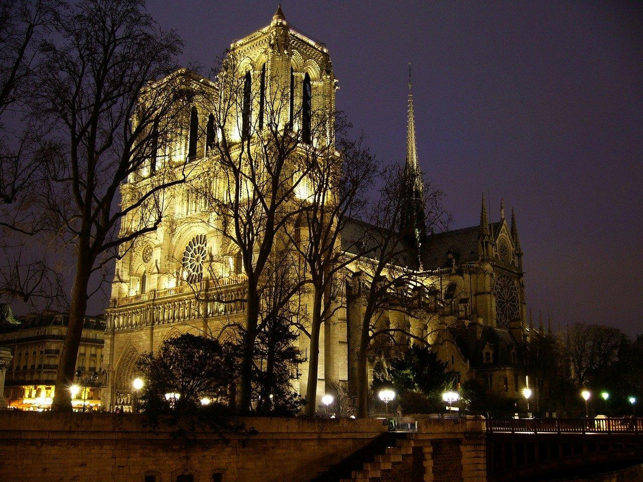 Notre Dame, Paris Pixabay