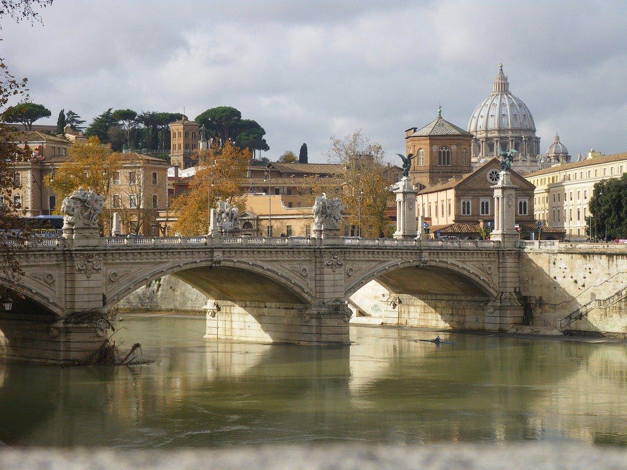 rome, vatican, river