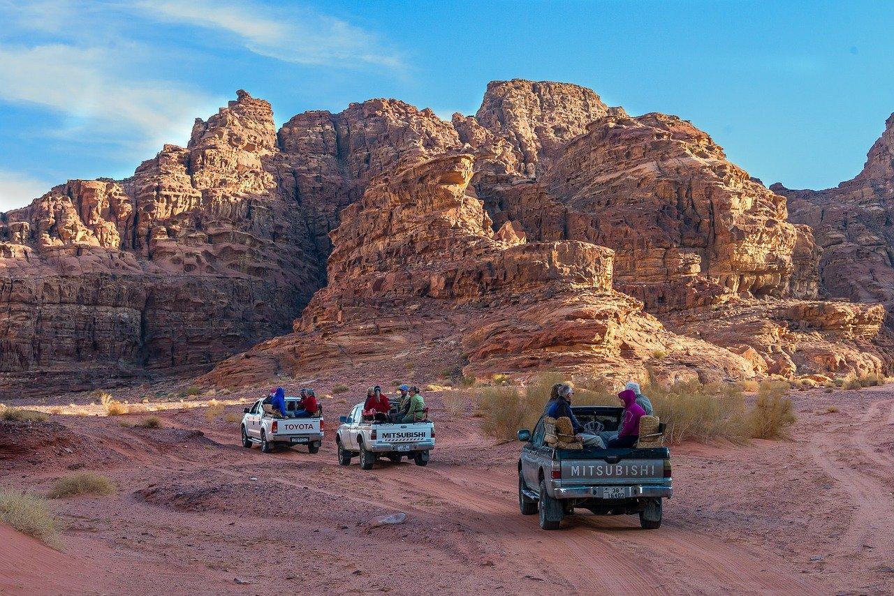 jordan, excursion, desert