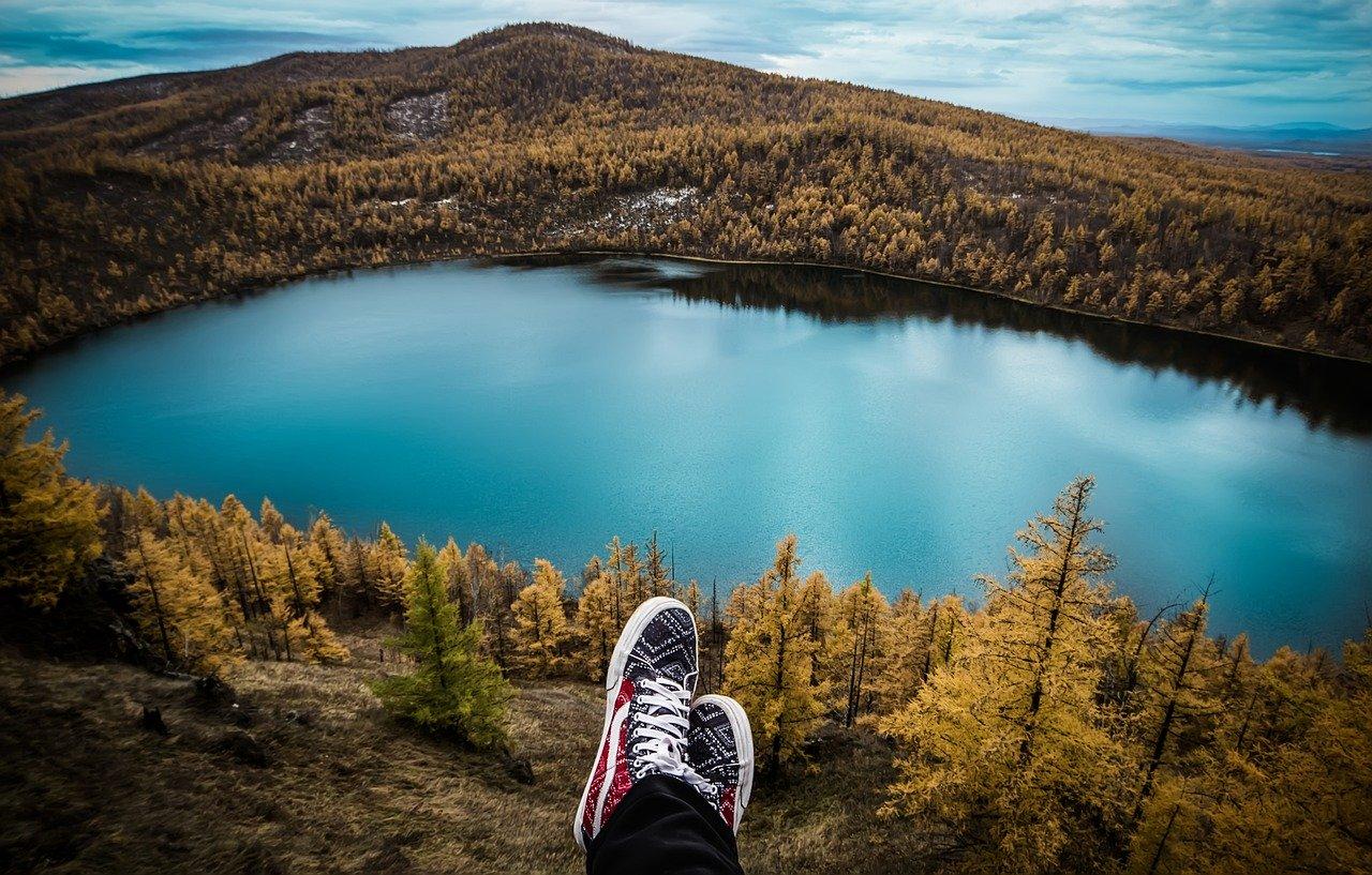travel, lake, feet