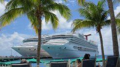 two, cruise, ships