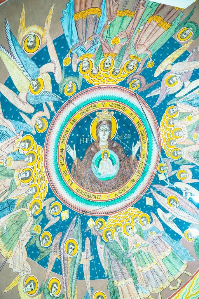 Picturile din interiorul Bisericii Sf. Nicolae