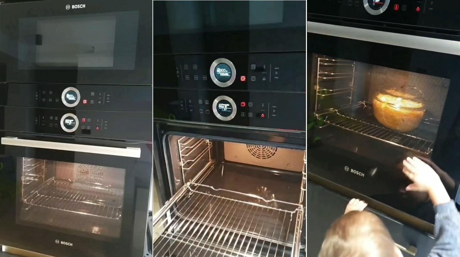 cuptor cu microunde si cuptor incorporabil Bosch